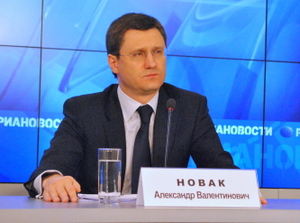 А.Новак: Цена на газ для Китая по 30-летнему контракту составит около 350 долл СШа за 1 тыс м3