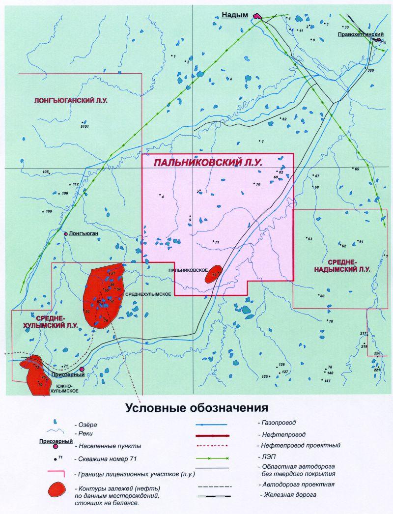 Перспективы нефтегазоносности отложений ахской свиты в Надымском районе
