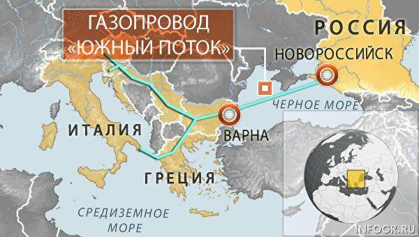 Все потоки ведут в Европу. Перспективы проекта Южный Поток и необходимость его реализации