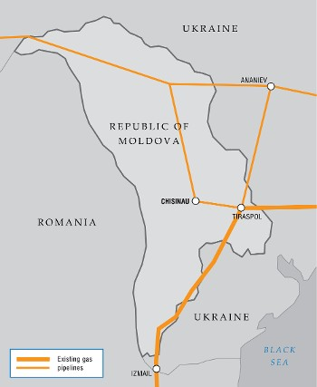 Gas supply and transit contracts with Moldova extended to Q2 2012