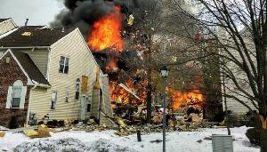 Взрыв газа в США: 15 пострадавших