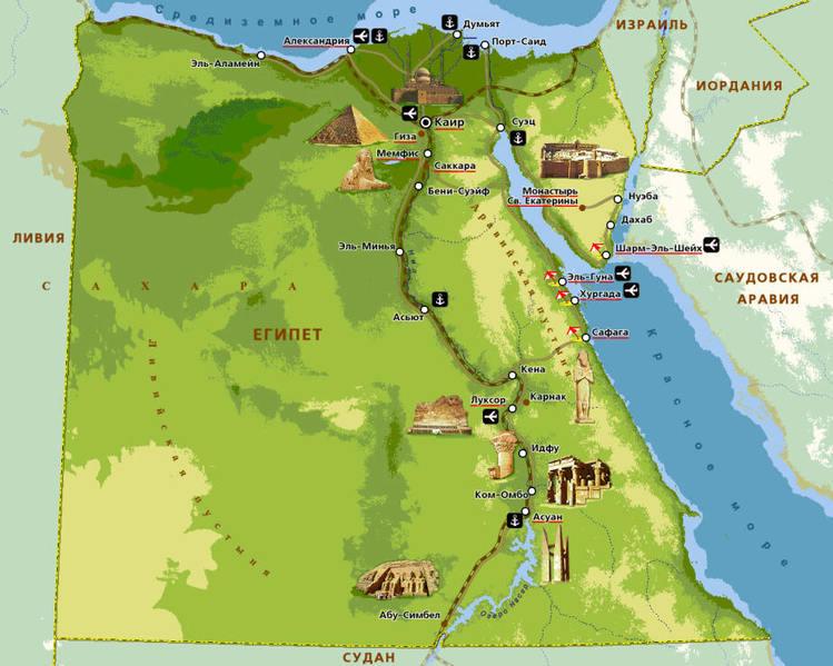Египет так и не возобновил поставки газа в Иорданию