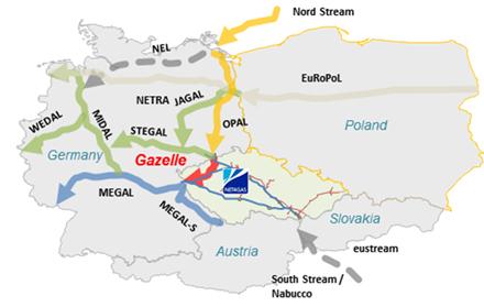 Еврокомиссия отложила решение по МГП OPAL до конца января 2015 г