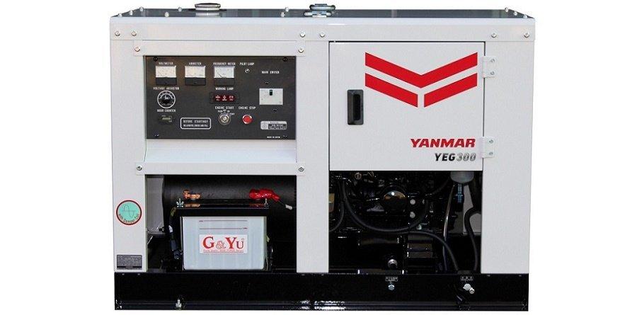 Генераторы Yanmar в новом дизайне