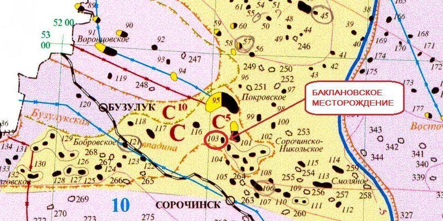 Баклановское месторождение (Оренбургская область)