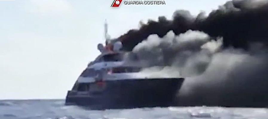8 неназванных казахских граждан чуть не погибли при пожаре на мегаяхте Lady MM у острова Сардиния