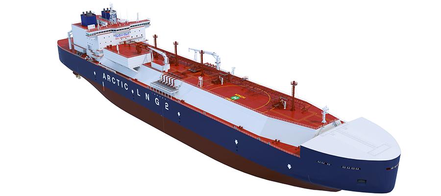 ССК Звезда заключила контракт на строительство 10 танкеров-газовозов для Арктик СПГ-2