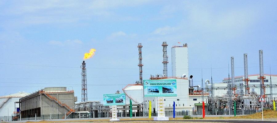 Туркменистан запустил 1-й в стране GTL-завод по производству синтетического бензина из природного газа