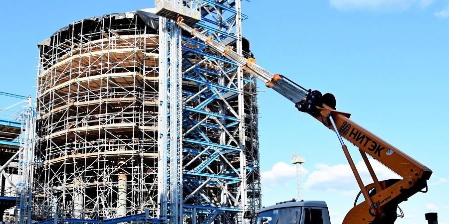 На Амурском ГПЗ завершены сварочно-монтажные работы на резервуарах 3-го резервуарного парка товарно-сырьевой базы для хранения СУГ