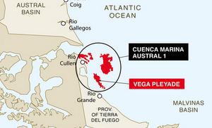 Total sanctions vega pleyade offshore field development in tierra del fuego, Argentina