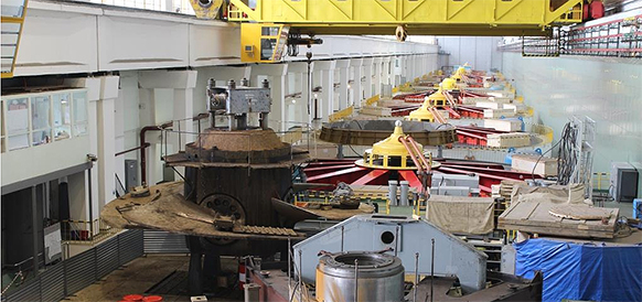 Время обновления. На Воткинской ГЭС завершен демонтаж 5-го гидроагрегата