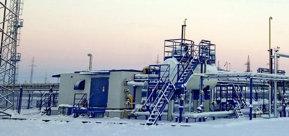На ДНС-2 Вынгапуровского месторождения установлена вакуумная компрессорная станция ЭНЕРГАЗ