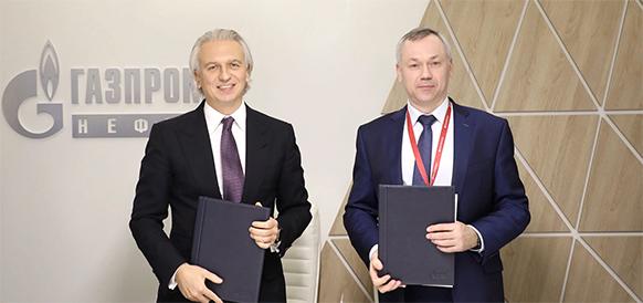 Газпром нефть нарастит объемы поставок инновационных битумов и масел в Новосибирскую область