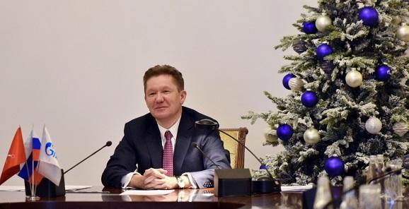 На предновогоднем селекторном совещании А. Миллер рассказал о планах Газпрома на 2018 г. Интересного много