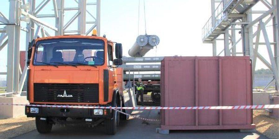 На Белорусскую АЭС доставили ядерное топливо для 2-го энергоблока