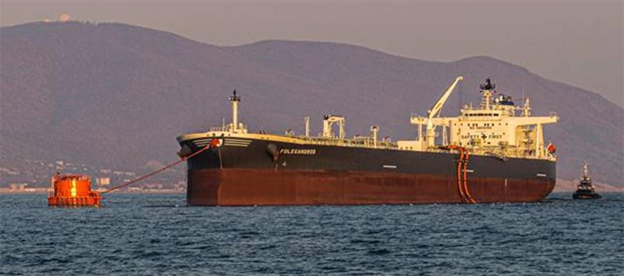 На морском терминале КТК отгружен 6-тысячный танкер