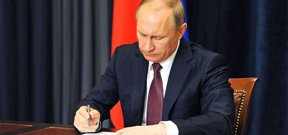 V.Putin singed a law on ROSATOM's powers in Northern Sea Route development