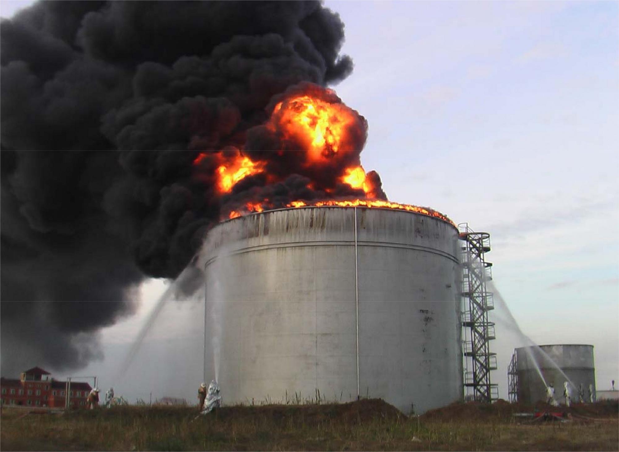 Опыт создания и эксплуатации установок тушения пожаров на нефтегазовых и нефтехимических объектах