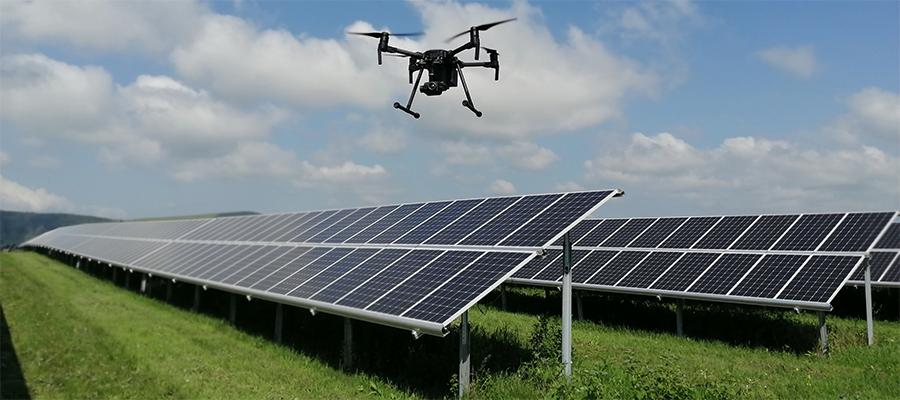 Хевел применил беспилотники для инспекции солнечных электростанций