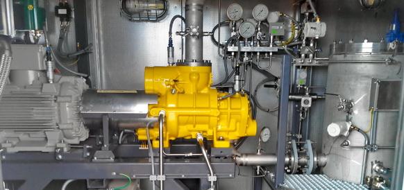 На УПСВ-4 Вахского месторождения ОАО Томскнефть завершены пусконаладка и испытания вакуумной компрессорной станции  ЭНЕРГАЗ