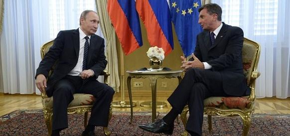 В. Путин: Газпром готовит новый контракт на поставки газа в Словению на 2018-2022 гг