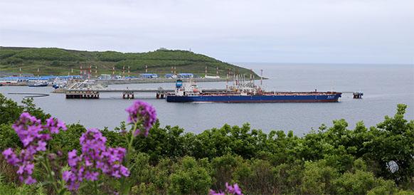 Порт Козьмино отгрузил 200-миллионную тонну нефти с начала своей работы (ФОТО)