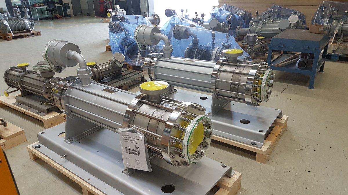 Герметичные насосы от HERMETIC-Pumpen GmbH для работы в агрессивных и опасных средах