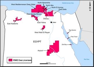 «Дочка» British Gas открыла очередное  месторождение газа на континентальном шельфе Египта в Средиземном море