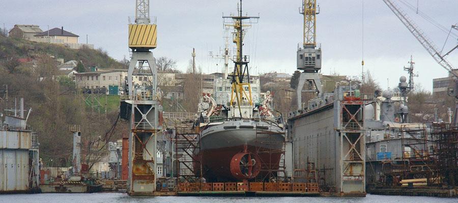 13-й судоремонтный завод Минообороны передадут ОСК до конца 2019 г.