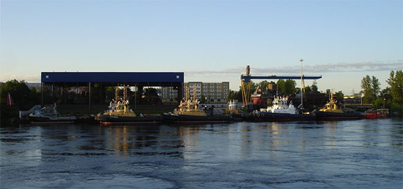 Ленэнерго обеспечило мощность судостроительному заводу Пелла в Ленинградской области