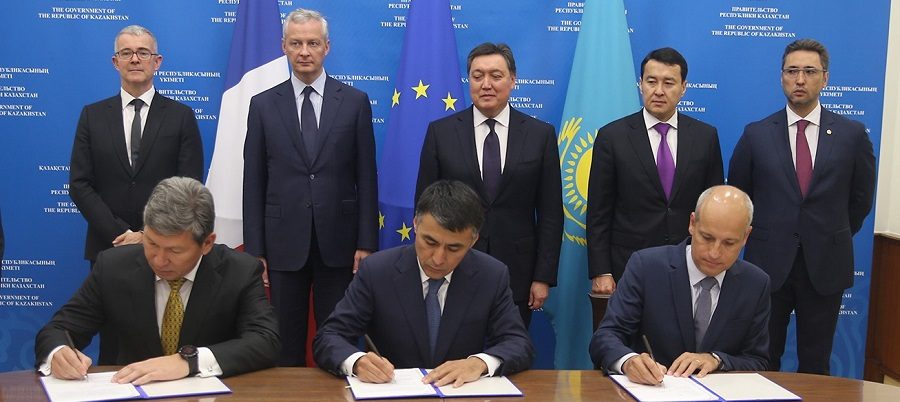 Total, KazMunayGas and Kazakh Energy Ministry signed MoU