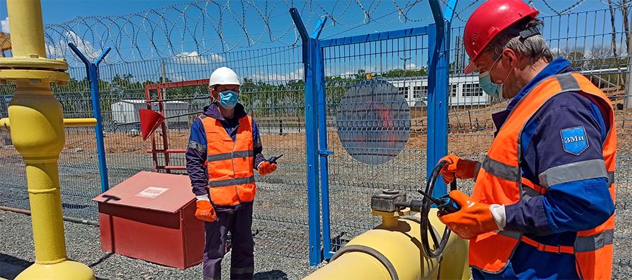 Природный газ подан на производственные мощности Спасскцемента в Приморском крае