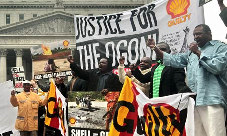 Secret papers 'show how Shell targeted Nigeria oil protests'