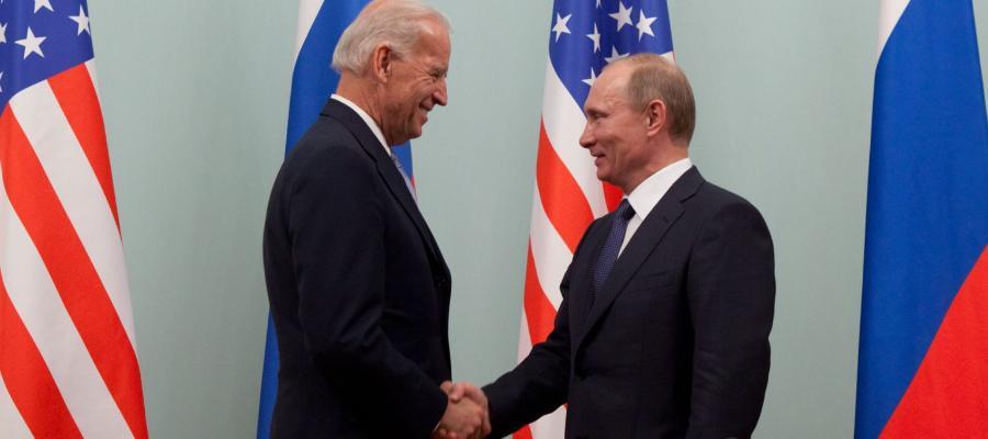 В. Путин встретится с Д. Байденом в г. Женева 16 июня 2021 г, конечно, не так как с Д. Трампом