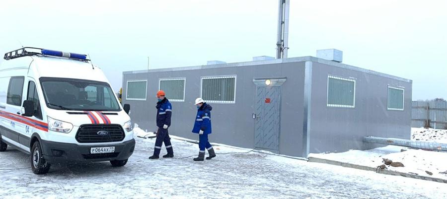 В с. Выльгорт Сыктывдинского района введена в эксплуатацию новая газовая котельная. Досрочно