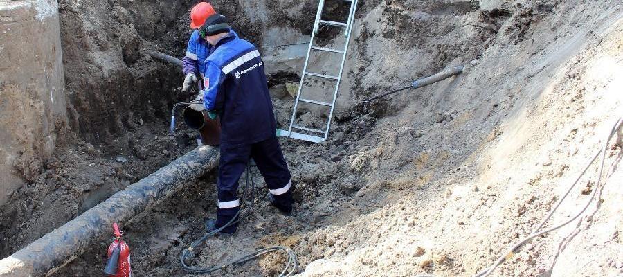 В 2 районах г. Рязань завершена реконструкция газопровода