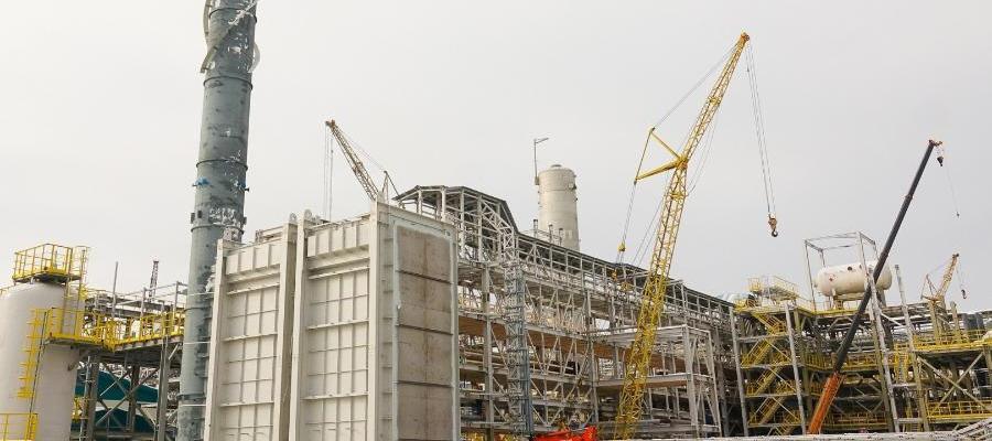Монтаж технологического оборудования производства МАН в г. Тобольск завершен на 95%