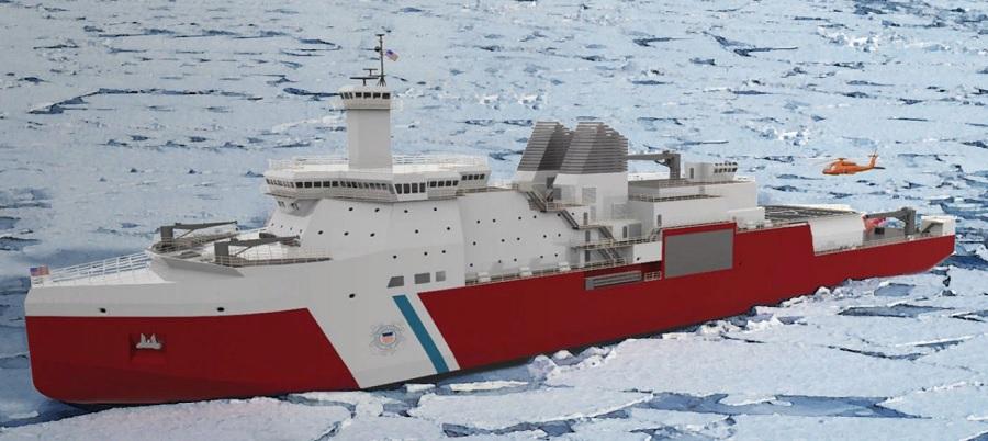 Vestdavit выиграла контракт на поставку оборудования для нового полярного ледокола береговой охраны США
