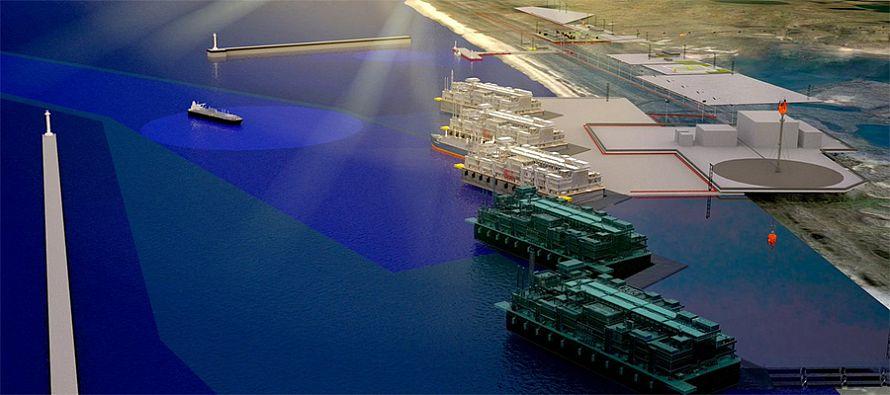 Подписан контракт на строительство СПГ-терминала Утренний проекта Арктик СПГ-2
