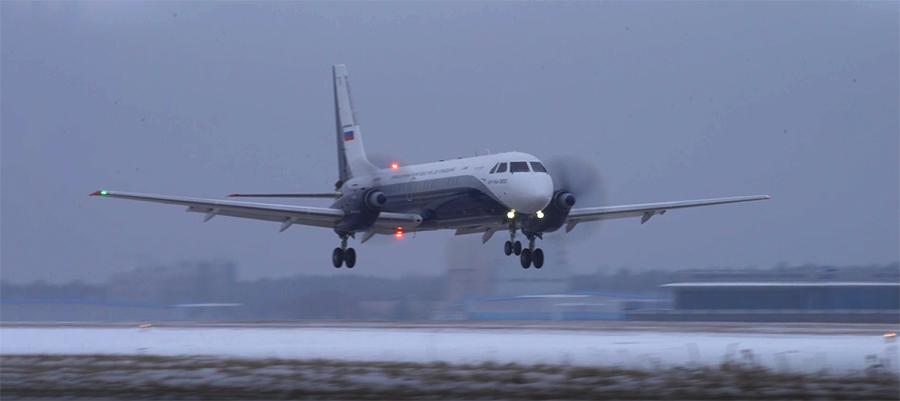 Еще один первый полет. В воздух поднялся новый российский пассажирский самолет Ил-114-300