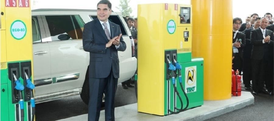 Туркменистан продолжает расширять сеть АЗС
