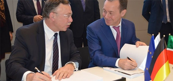 C такими же турбинами. Siemens и ТАИФ подписали контракт на строительство электростанции «под ключ» для Нижнекамскнефтехима