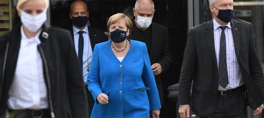 Germany determined to complete Nord Stream 2 pipeline despite US pressure, Merkel says