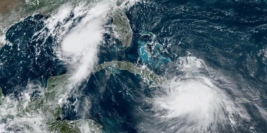 Надвигаются тропические штормы. Компании США остановили 57,6% добычи нефти в Мексиканском заливе