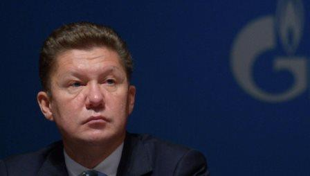 А.Миллер: Украина сократила потребление газа из России в 3 раза