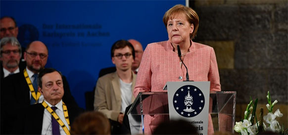 A.Merkel sees considerable energy cooperation potential with Qatar on LNG