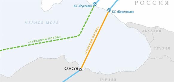 Газопровод Голубой поток за 15 лет стал мощным катализатором развития газового рынка Турции