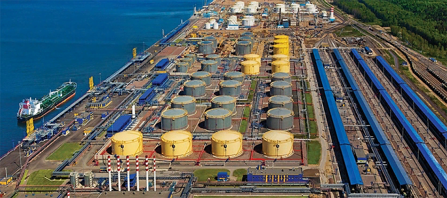Без хлорорганики. В порту Усть-Луга возобновлена отгрузка танкерами качественной российской нефти на экспорт
