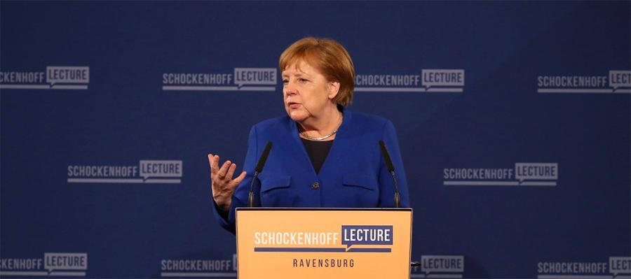 А. Меркель: ЕК не сможет остановить Северный поток-2