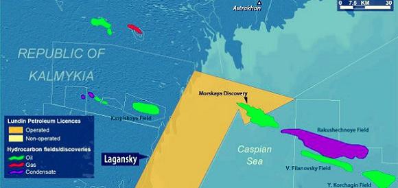 Gunvor в 2017 г планирует возобновить инвестиции в месторождение Морская на шельфе Каспия